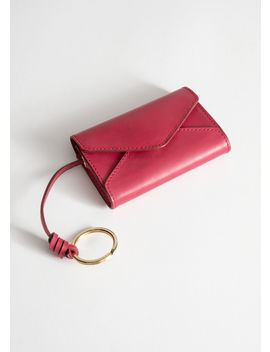Leather Envelope Key Pouch by & Other Stories