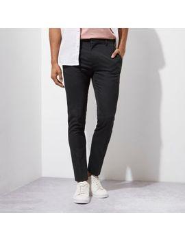 Grey Super Skinny Smart Pants by River Island