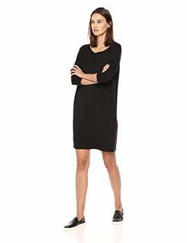 Daily Ritual Women's Terry Cotton And Modal Dorito High Low Sweatshirt Dress by Daily Ritual