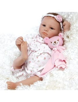 Paradise Galleries Lifelike & Realistic Newborn Reborn Baby Doll, Bundle Of Joy, 18 Inch Weighted Baby In Gentle Touch Vinyl, 5 Piece Set by Reborn