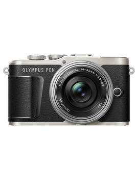 """Olympus Pen E Pl9 Compact System Camera With 14 42mm Ez Lens, 4 K Ultra Hd, 16.1 Mp, Wi Fi, Bluetooth, 3"""" Tiltable Lcd Touch Screen, Black by Olympus"""