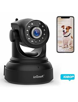 Ie Geek [New Update] 1080 Ip Camera Wi Fi Home Security Surveillance Indoor Cctv Camera With Hd Night Vision/Two Way Audio/Motion Detection Pan/Tilt Wireless Camera For Baby/Elder/Pet Monitor by Ie Geek