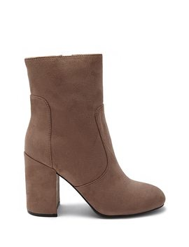 Block Heel Ankle Booties by Forever 21