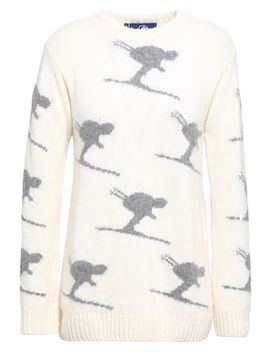 Intarsia Knit Wool And Cashmere Blend Sweater by Fusalp