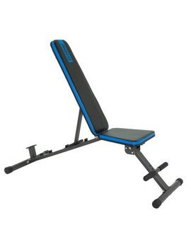 Progear 1300 Adjustable 12 Position Weight Bench With An Extended 800lb Weight Capacity And Leg Hold Down by Pro Gear