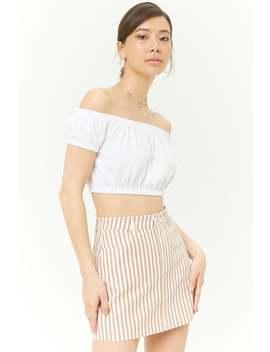 Striped Mini Skirt by Forever 21