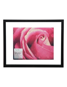 Single Image  11 X14 Float To 8 X10 Black Frame   Gallery Solutions by Snap