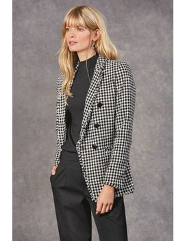 Double Breasted Bouclé Jacket by Next