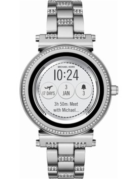 Access Sofie Smartwatch 42mm Stainless Steel   Silver Tone by Michael Kors