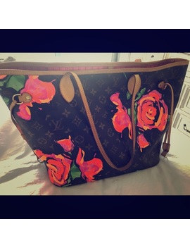 Lv Rose Tote Neverfull by Louis Vuitton