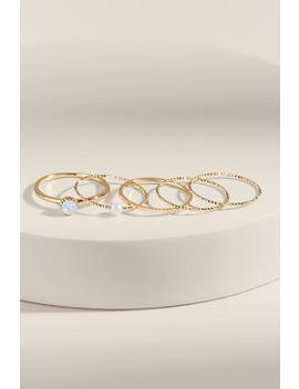 Tessa Cz Ring Set by Francesca's