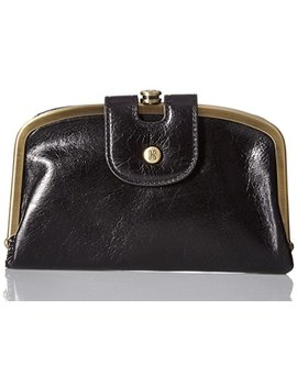 Hobo Womens Halo Vintage Leather Compact Wallet by Hobo