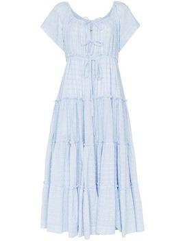 Sea Mist Peasant Dress by Innika Choo