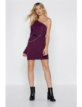 Shoulder And Wiser Sweater Dress by Nasty Gal