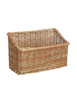 Croft Collection Slanted Wicker Storage Box by Croft Collection
