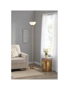 Opp Floor Lamp Gold(Base Upc:0798919037797) by Mainstays
