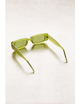 Reese Slim Rectangle Sunglasses by Urban Outfitters
