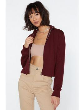 Make It Zippy Track Jacket by Nasty Gal
