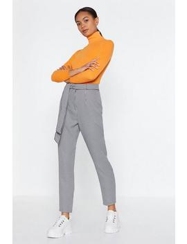 Gingham Check Tapered Trouser by Nasty Gal