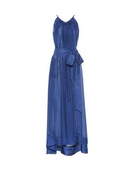 Genevieve Silk Maxi Dress by Kalita