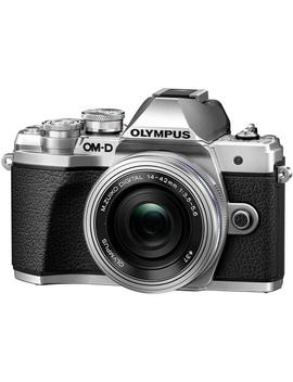 Olympus Om D E M10 Mark Iii Mirrorless Camera With 14 42mm Ez Lens (Silver) (International Version W/Seller Provided Warranty) by Olympus