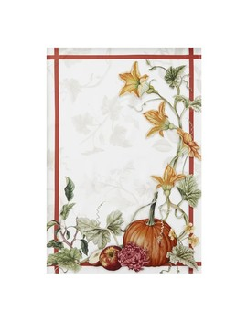 Harvest Pumpkin Towels, Set Of 2 by Williams   Sonoma
