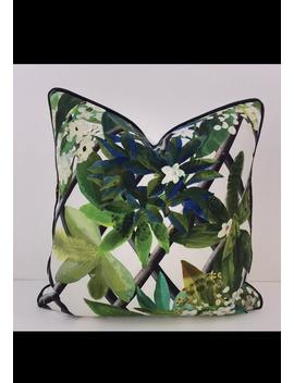 Designers Guild    Christian Lacroix, Cushion/Pillow Thrown Canopy In Malachite Many Sizes Available by Etsy