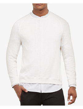 Kenneth Cole Men's Comfort Knit Sweatshirt by Kenneth Cole New York