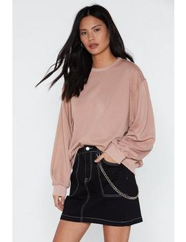 Keep It Chill Relaxed Sweatshirt by Nasty Gal