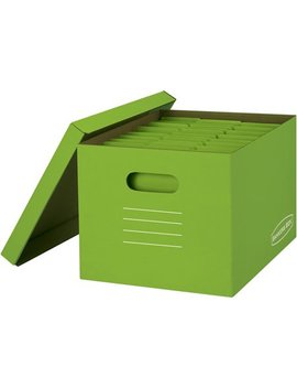 Bankers Box Basic Strength Storage Boxes, 8 Pack by Bankers Box