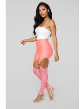 Wild Thoughts Leggings   Pink by Fashion Nova