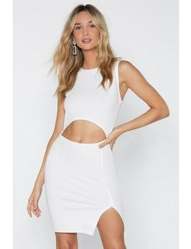 Hear Me Cut Out Dress by Nasty Gal