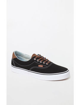 Vans C&L Era Black Shoes by Pacsun