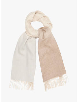 Reiss Sass Ombre Scarf, Blush by Reiss