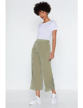 Don't Slit On The Fence Striped Pants by Nasty Gal