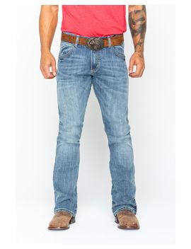Wrangler Men's Retro Slim Fit Boot Cut Jeans by Wrangler