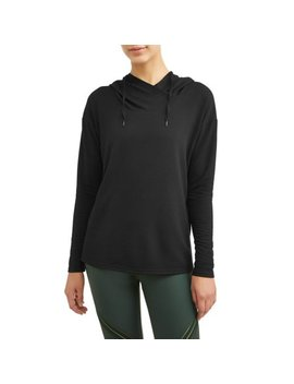 Women's Active Lux Fleece Tunic Hoodie by Athletic Works