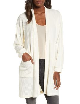 Ribbed Cardigan by All In Favor