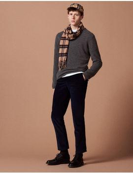 Corduroy Suit Trousers by Sandro Paris