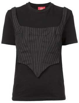 Corset T Shirt by Dilara Findikoglu