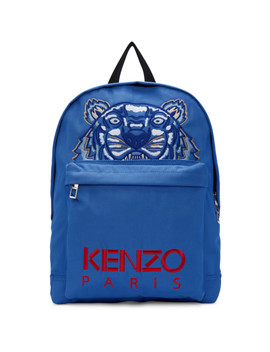 Blue Tiger Capsule Backpack by Kenzo