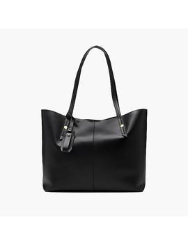 Harper East West Tote In Italian Leather by J.Crew