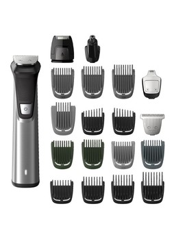 Philips Multigroom Series 7000 Cordless Wet & Dry With 23 Pieces Trimming Accessories, Dual Cut Technology, Lithium Ion by Philips