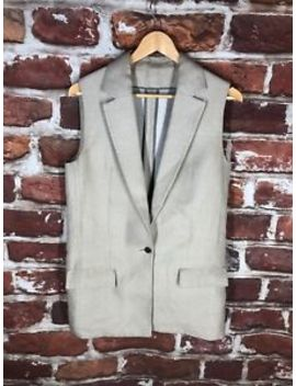 $700 Rare Acne Studios 36 S Runway Tom Suit Brit Thom X Label Jacket Vest by Acne Studios