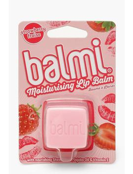 Balmi Strawberry Lip Balm by Boohoo
