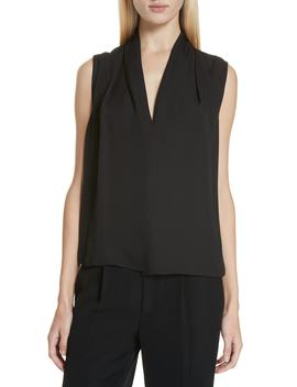 Sleeveless Silk Blouse by Vince