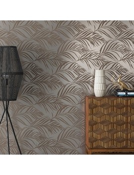 Palma Peel & Stick Removable Wallpaper Metallic Silver   Opalhouse™ by Shop This Collection