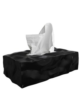 Essey Crinkle Rectangular Tissue Box Cover & Reviews by Essey