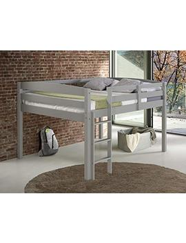 Concord T1304 F Junior Loft Bed, Full, Grey by Concord Global Trading