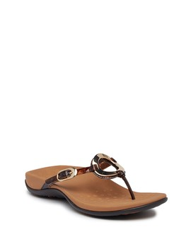 Karina Toepost Sandal   Wide Width Available by Vionic